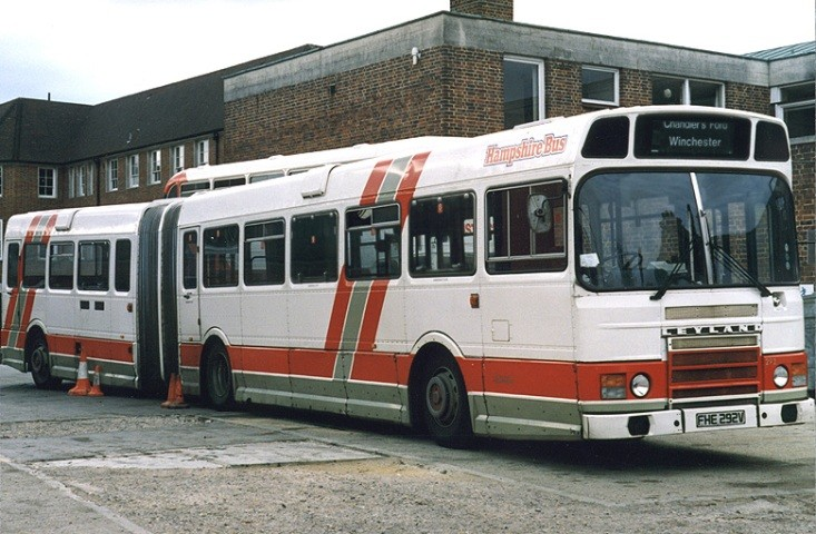 Hampshire's Leyland articulated bus