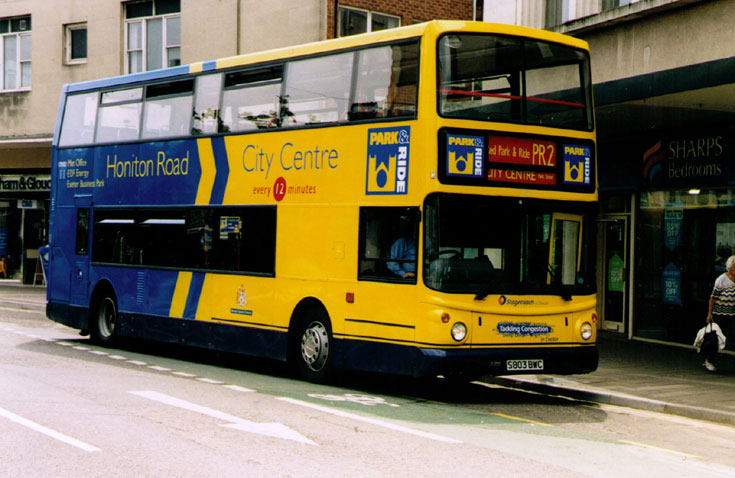 Dennis double deck bus with ALX400 Alexander body