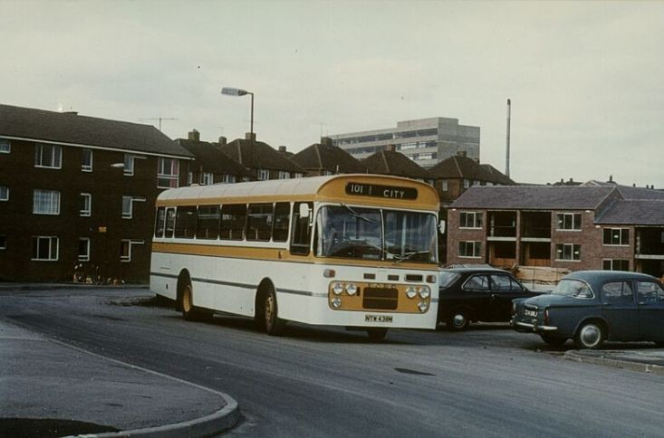 Ford / Plaxton bus