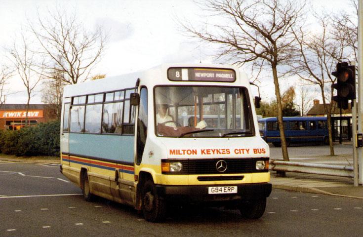 Milton Keynes City Bus Mercedes-Benz G94ERP
