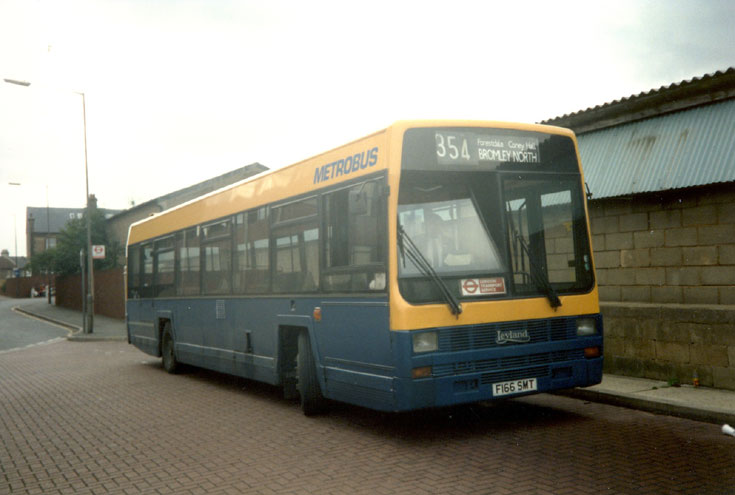 Metrobus Leyland Lynx single deck bus
