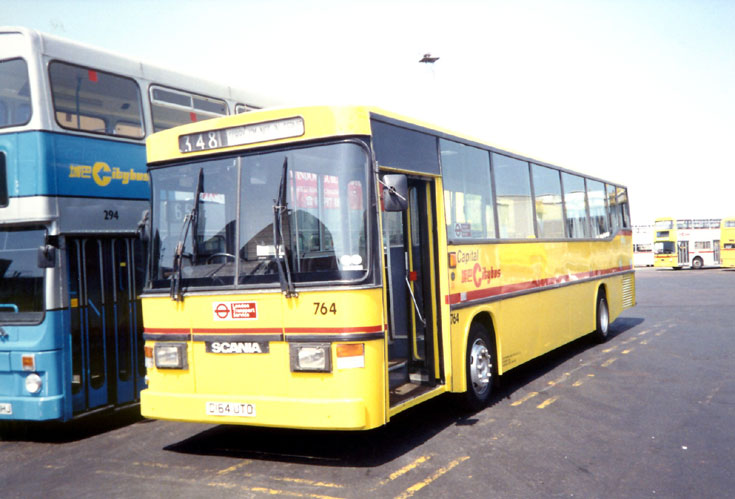 Capital Citybus Scania K92 bus D164UTO