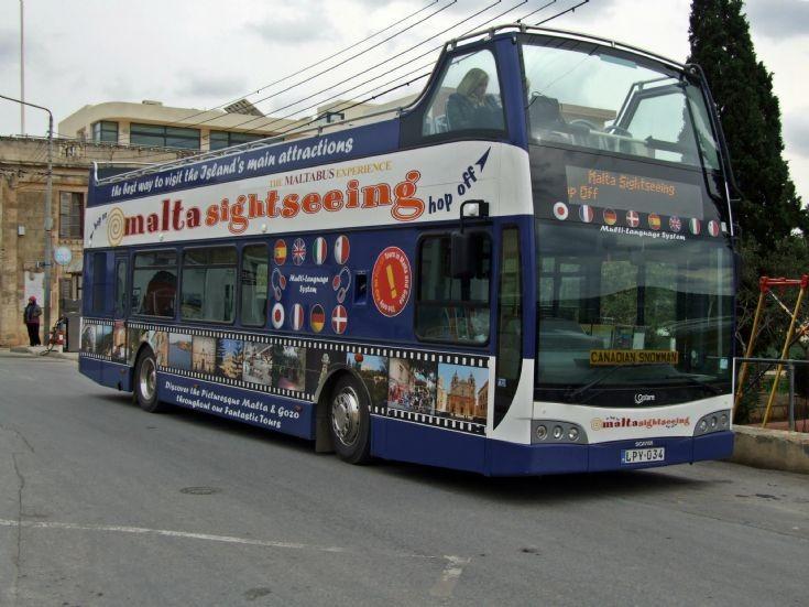 Scania Optare in Malta