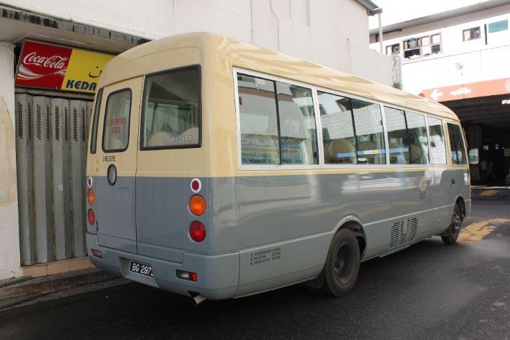 PWD Mitsubishi Rosa bus