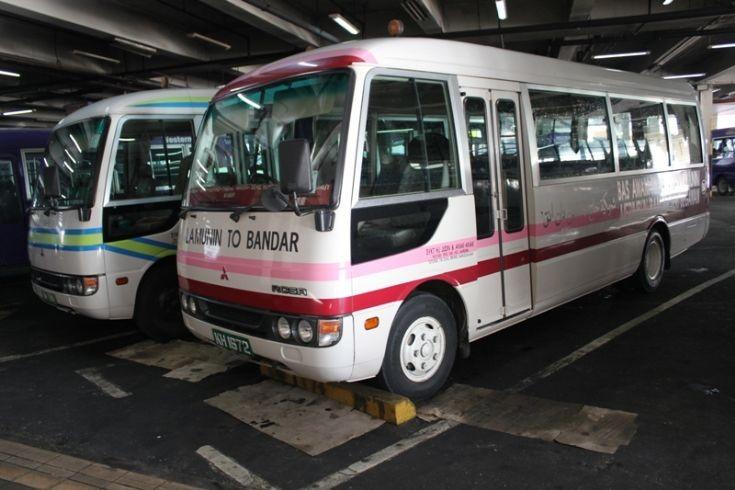 Mitsubishi Rosa twins