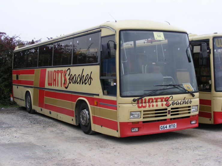 Watts Coaches in Wales