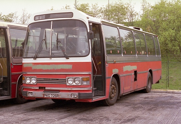 Bus and Coach Photos - Leyland Leopard PKG726R