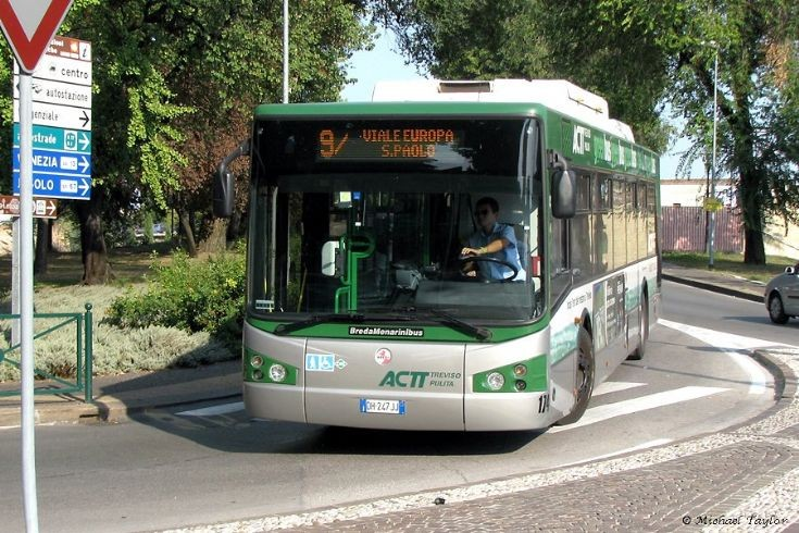 Treviso 174 near the railway station