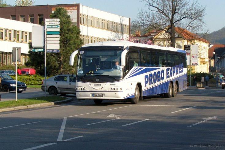 Probo Expres Scania Irizar in Beroun