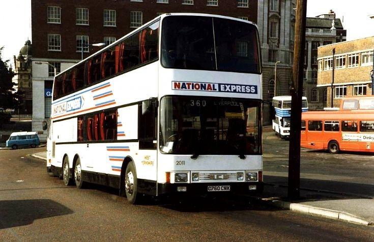 West Yorkshire Metroliner coach