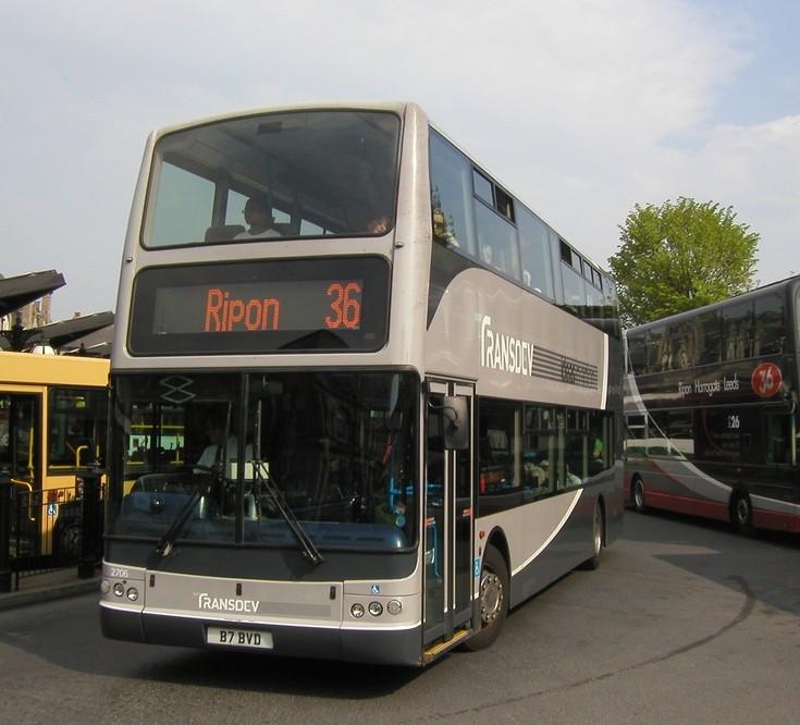 Transdev Plaxton Leaving Harrogate