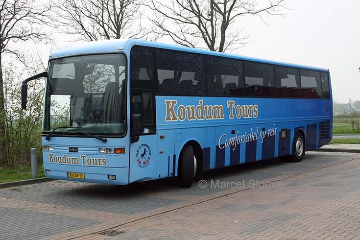 Koudum Tours EOS Van Hool coach