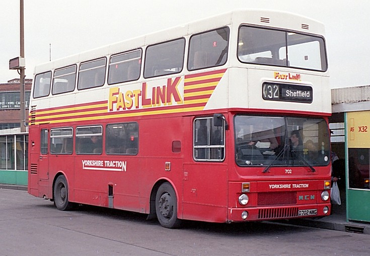 Yorkshire Traction Metrobus in Leeds