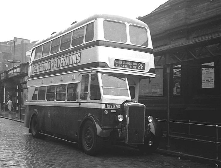 Birmingham Corporation Daimler