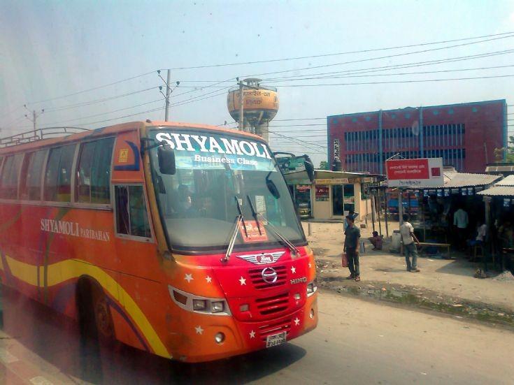 Shyamoli Paribahan Hino AK Bus
