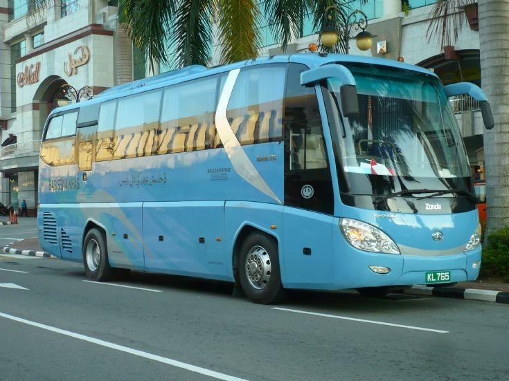 Zonda coach at Brunei