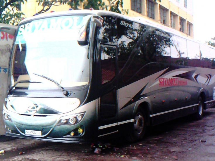 shyamoli paribahan hino rm3 business class bus