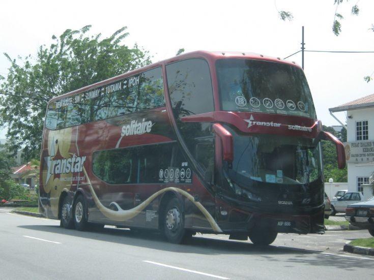 Scania bus in Malaysia