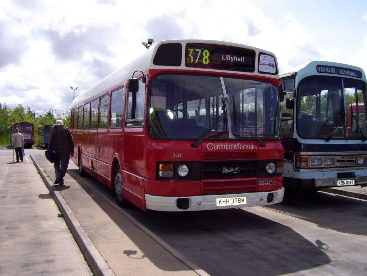 Leyland National mk2 at Lillyhall