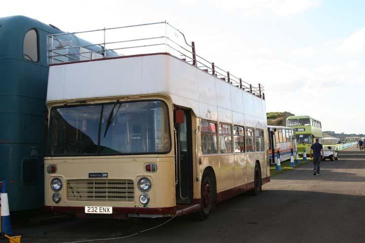 Bristol VR Double-Decker bus Fairford 2007