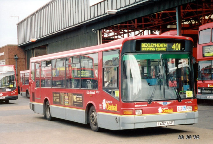 Dennis Dart SLF bus London Central