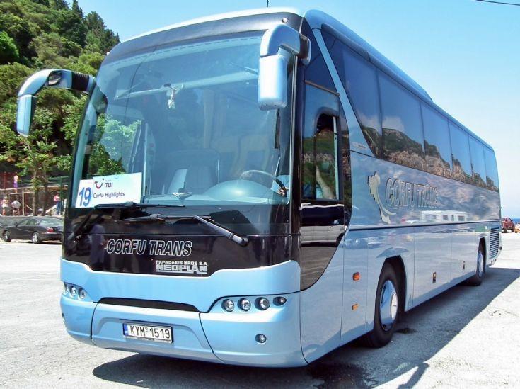 Neoplan at Corfu
