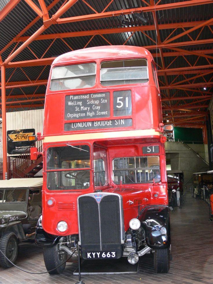 1950 AEC Regent Mk3 RI