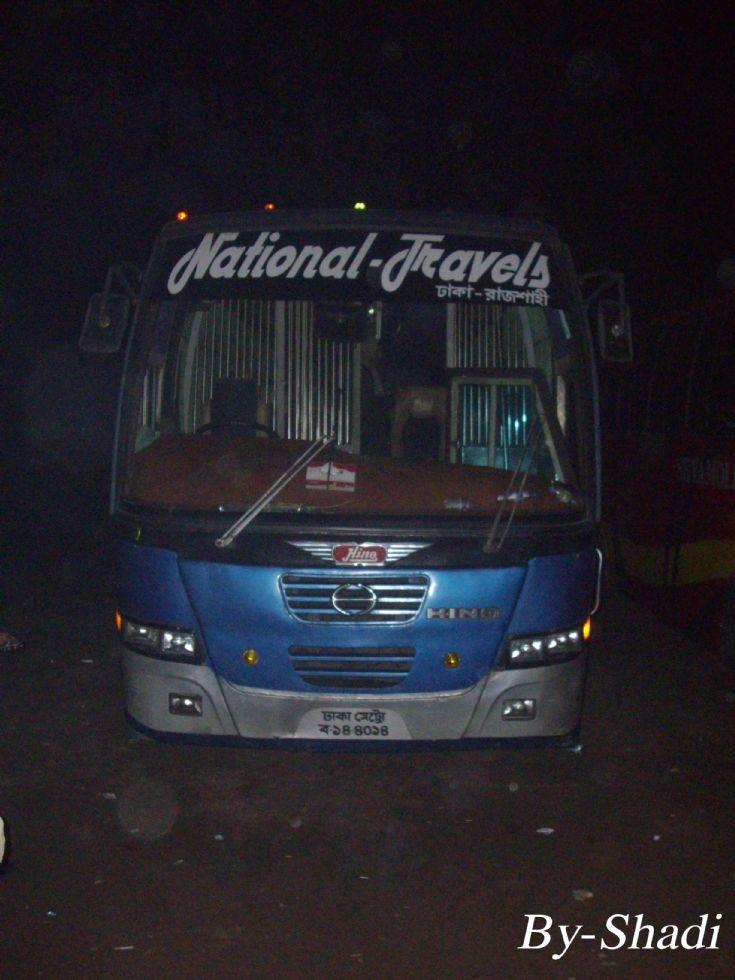 National Travels -HINO AKJ-Uro Bangladesh