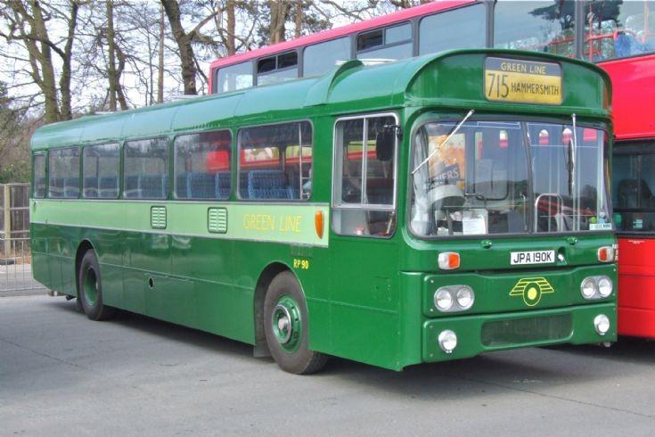 Green Line RP 90 at Longcross