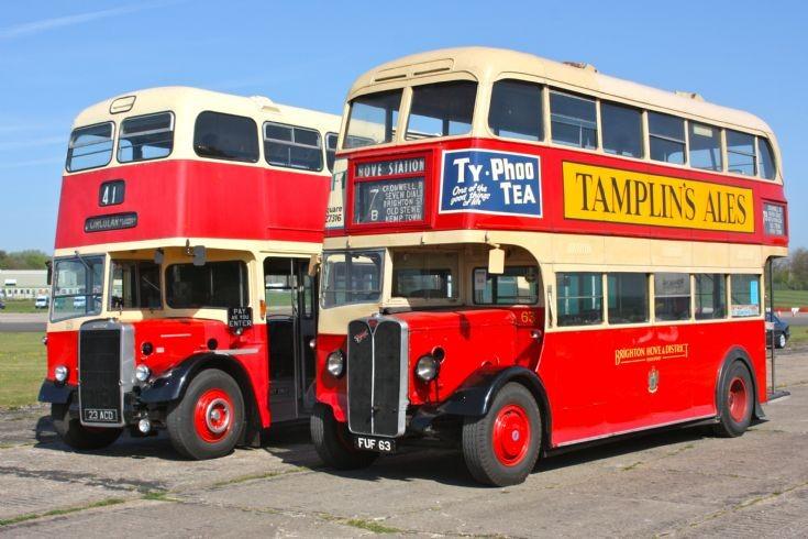 Brighton Buses at Dunsfold