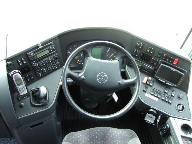 Setra cockpit