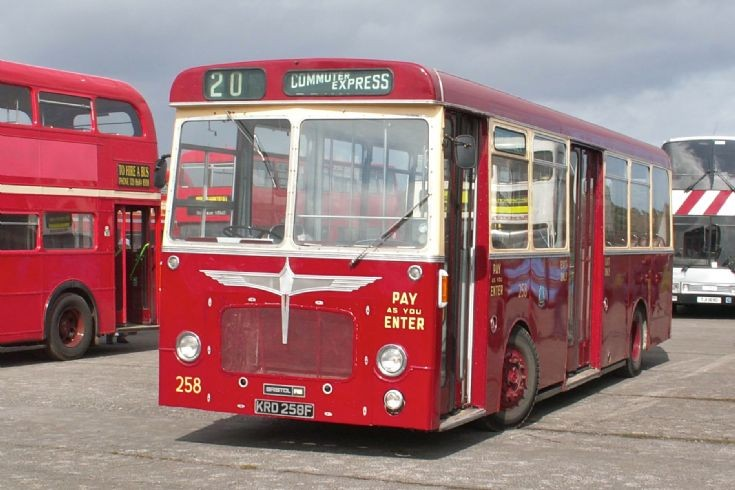 Reading Transport Fleet 258
