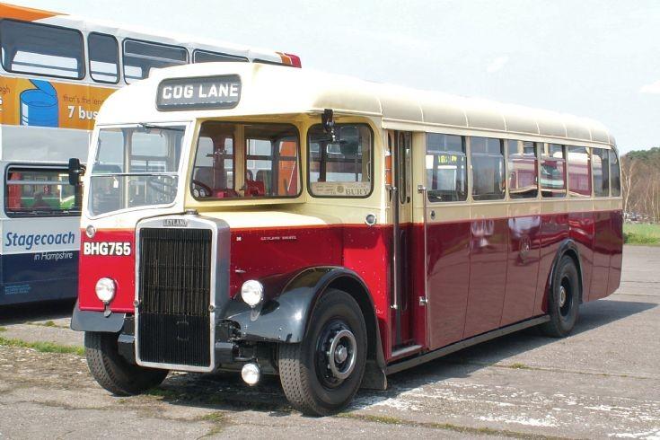 1952 Leyland PS2 at Wisley