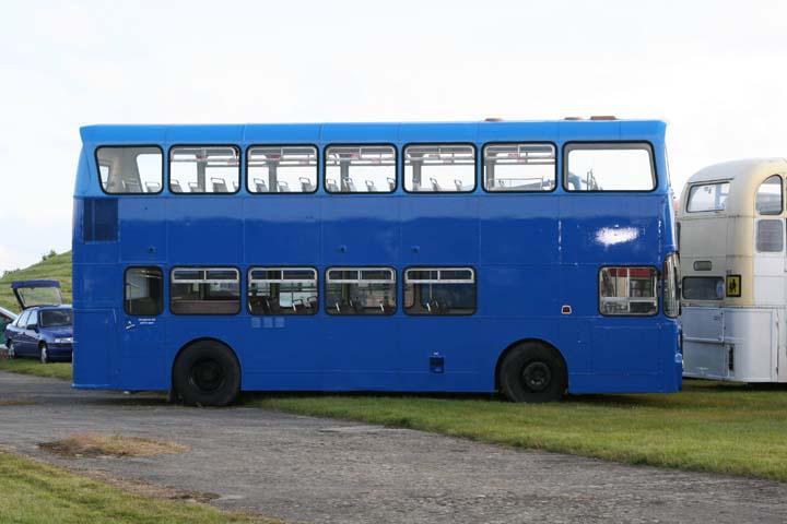 Double-Decker bus at RAF Fairford