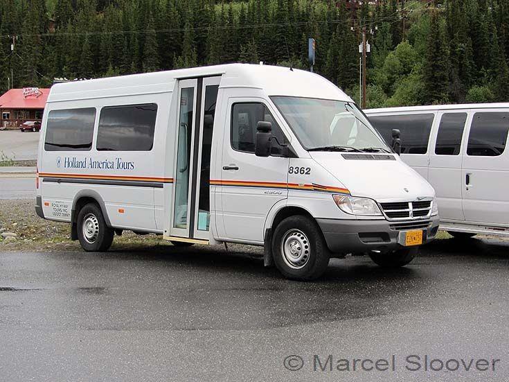 Holland America Tours mini bus 8362