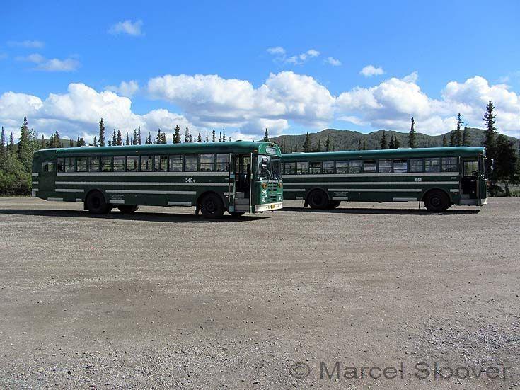 Thomas shuttle buses