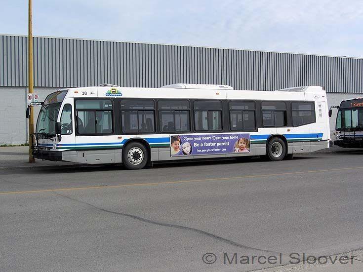 Nova Bus in Yukon, Canada