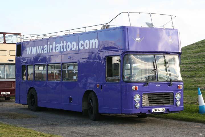 Bristol VRT Double-Decker bus Fairford 2007