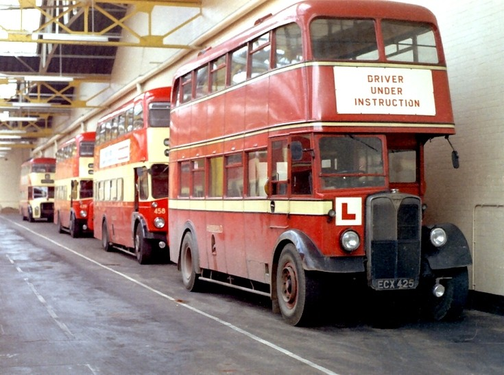 Huddersfield Corporation AEC Regent