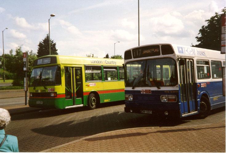 TGM buses Leyland National