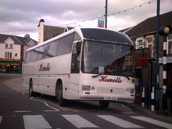 Bus at Bargoed