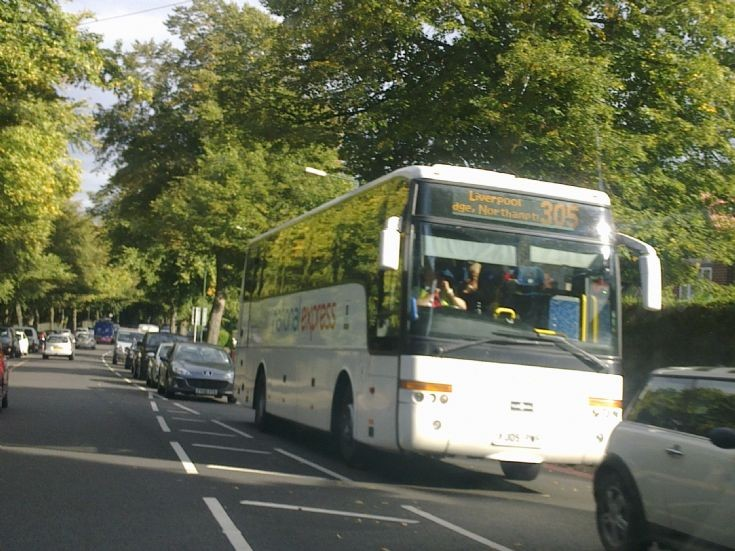 National Express Coach in Walsall