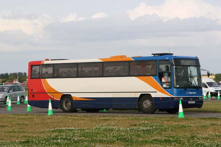 Stagecoach Volvo B10M-62 Coach P281XYS