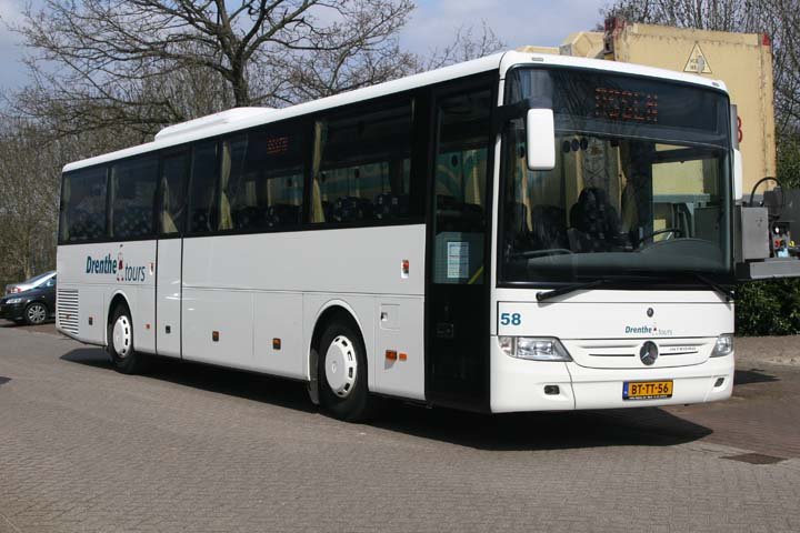 Bus and coach photos drenthe tours mercedes integro for Mercedes benz tour bus