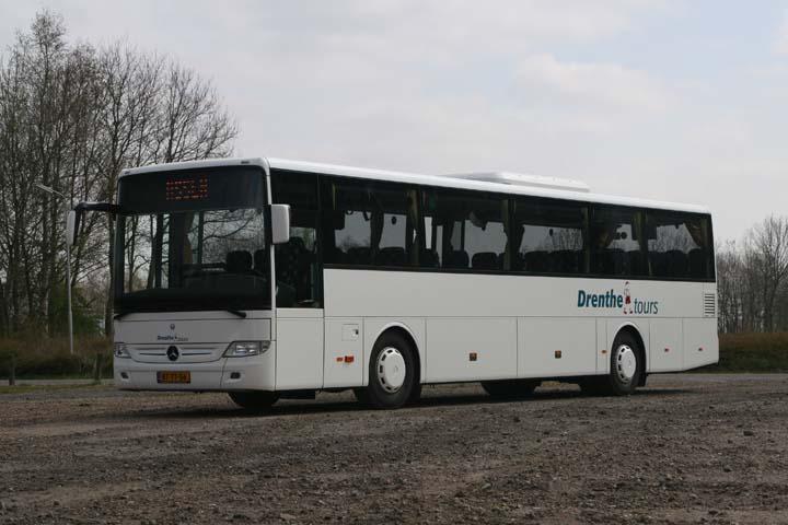 Bus and coach photos drenthe tours mercedes integro bus for Mercedes benz tour bus