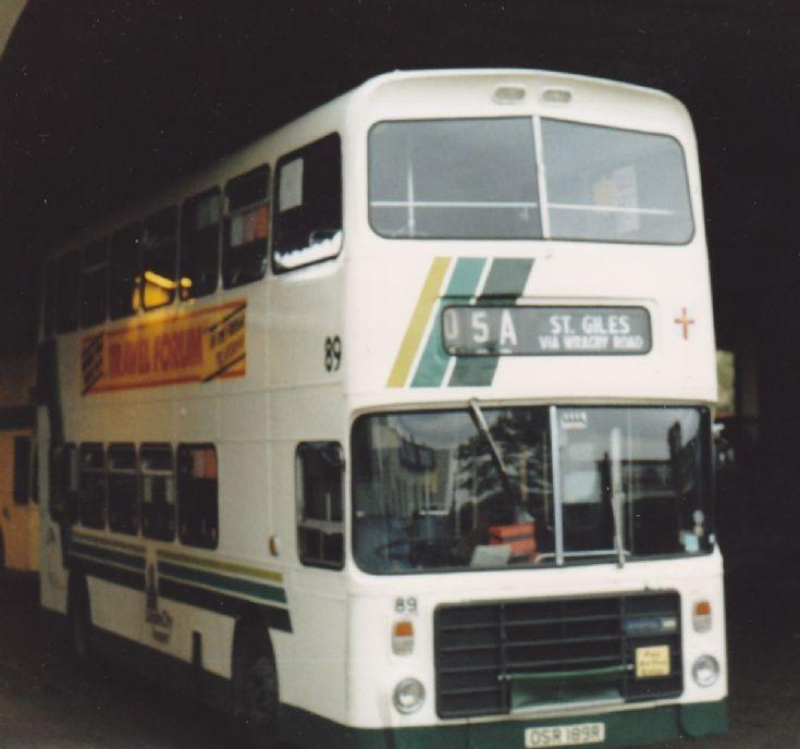 Lincoln City Transport Bristol VRT