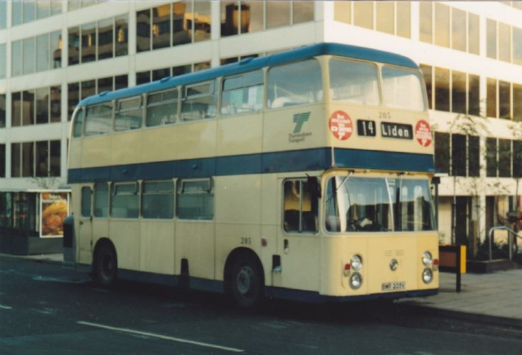 Thamesdown Transport Fleetline