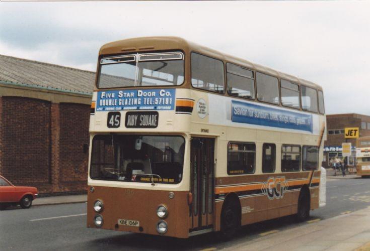 Grimsby-Cleethorpes Transport Fleetline