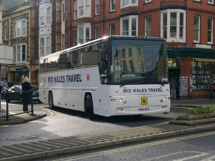 Mid Wales Travel Coach