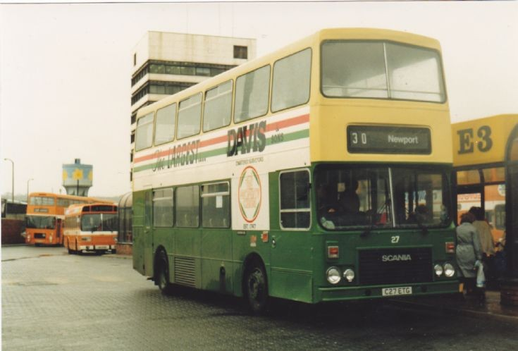 Newport Transport Scania